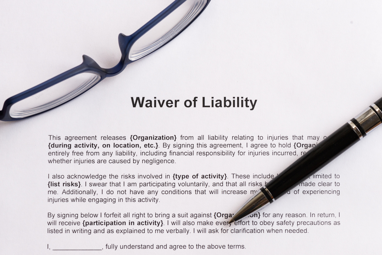 What You Need to Know about Legal Liability Waivers