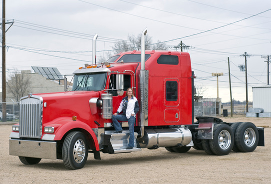 Semi-truck drivers – no place to rest