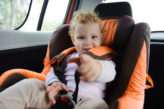 How Secure is Your Child When Riding in a Motor Vehicle?