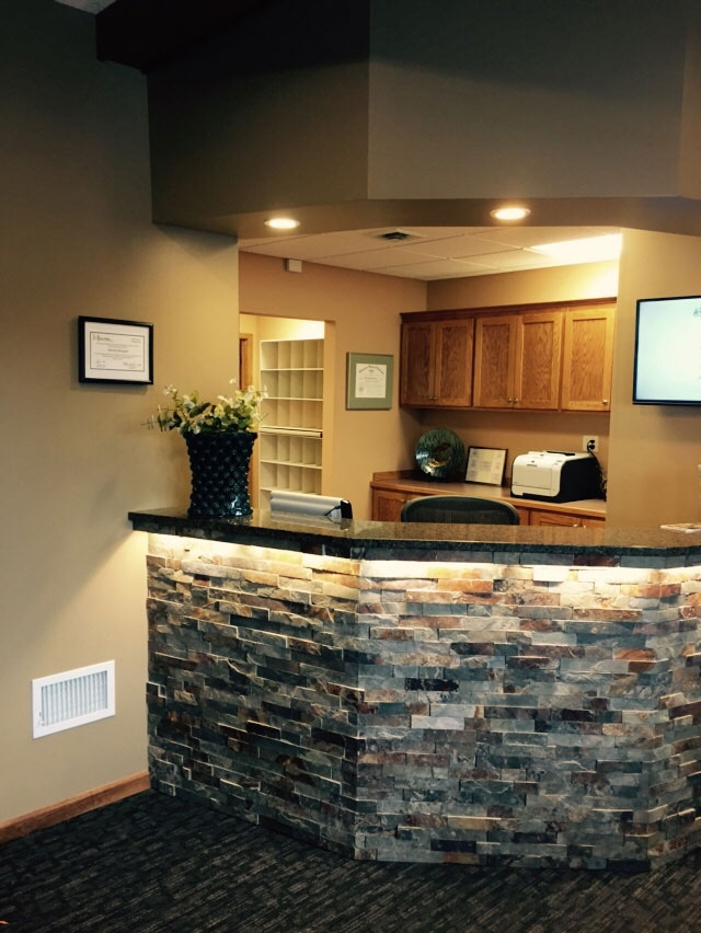 Reception Area – Before & After