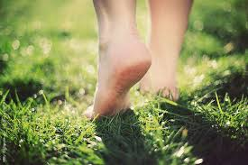 barefoot, earthing, anxiety