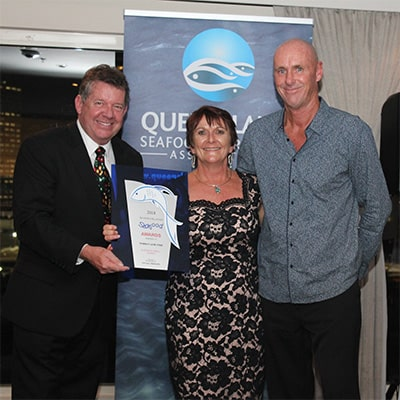 2018 Queensland Seafood Industry Awards Winner - Tomkat Line Fish