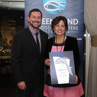 2018 Queensland Seafood Industry Awards Winner - Debbie's Seafood