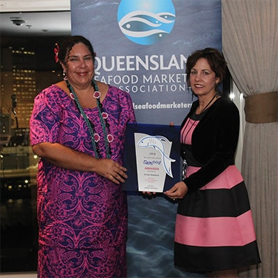 2018 Queensland Seafood Industry Awards Winner - Flora Warrior