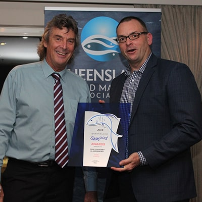 2018 Queensland Seafood Industry Awards Winner - Tony Courtney