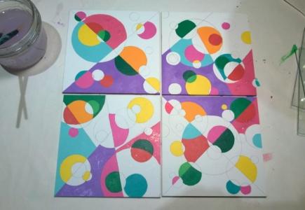 Circle Mosaic Paintings – Part 3