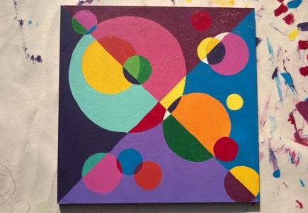 Circle Mosaic Paintings – Part 6