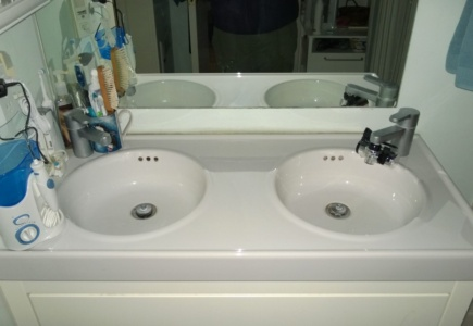 Master Bath Double-Sink Vanity