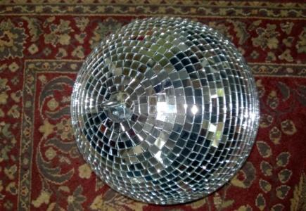 I Disco Ball'd The Upstairs Hall