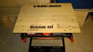 my new black and decker workmate 425