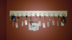 crafting a diy key rack