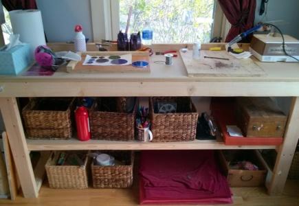My New Workbench & Workshop!
