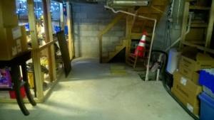 i shop-vac'd our basement common area #1