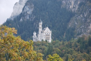 castle neuschwanstein in southwest bavaria, germany