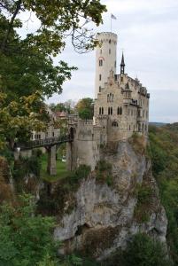 castle lichtenstein in the swabian region of germany