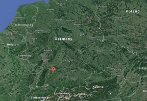 my german family lives in nürtingen, germany, southeast of stuttgart