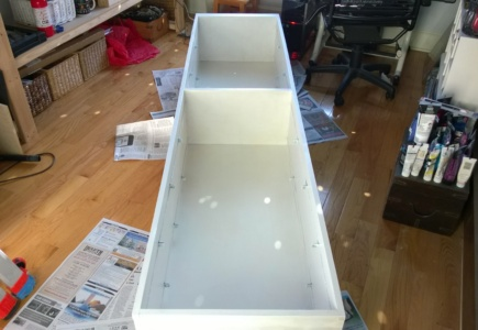 Tall Bookcase – Part 1