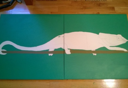 Chameleon Mural – Part 1