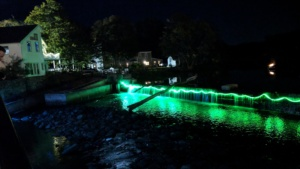 ipswich illuminated 2017 - led color changing waterfall lights