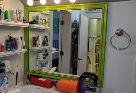 Bathroom Mirror Frame – Part 1