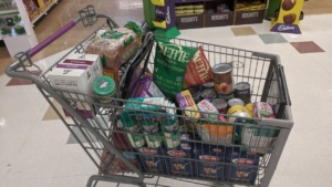first major food run 3 weeks before covid hit