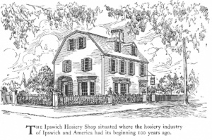 philemon dean house ipswich ma as hosiery shop 1922