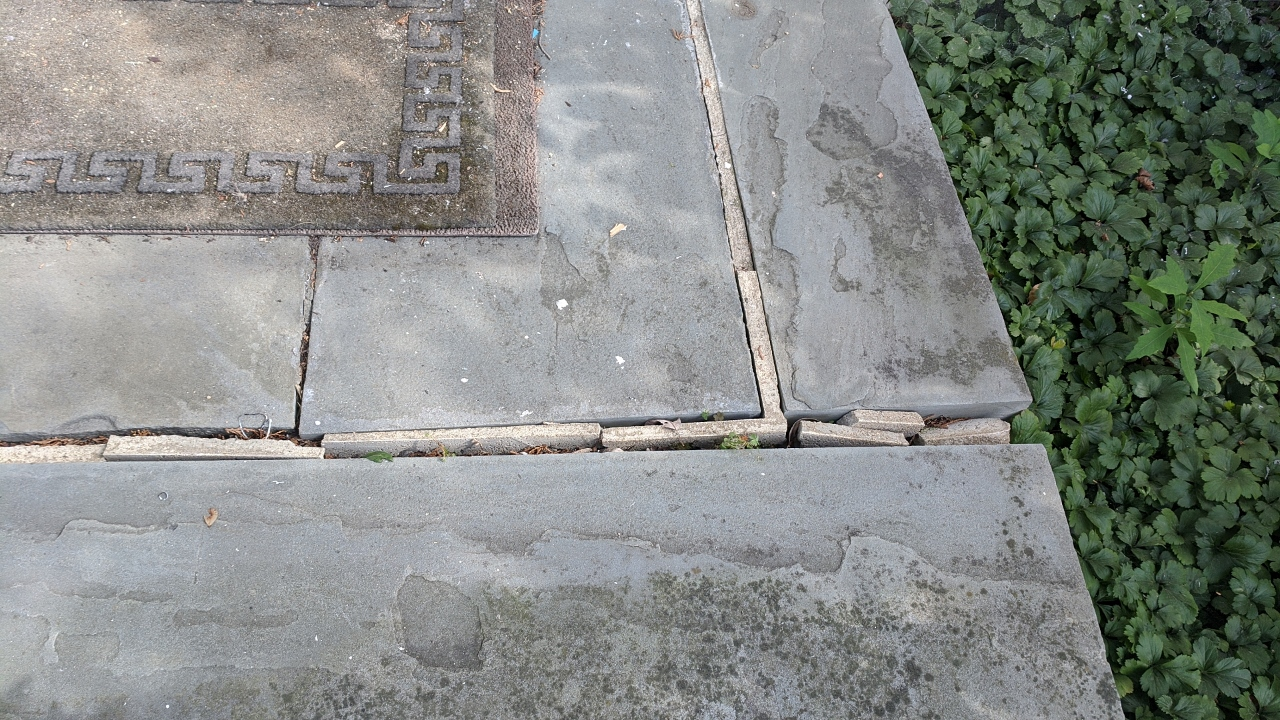 Repointing Slate Steps – Part 1