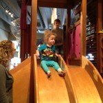 child attending Peak Potential Therapy's special needs Spring Break Camp on a field trip to Great Lakes Science Center
