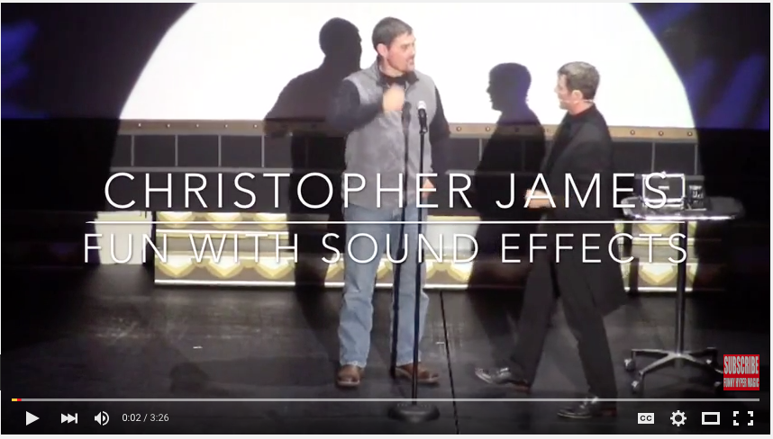 Christopher James Comedy Magician
