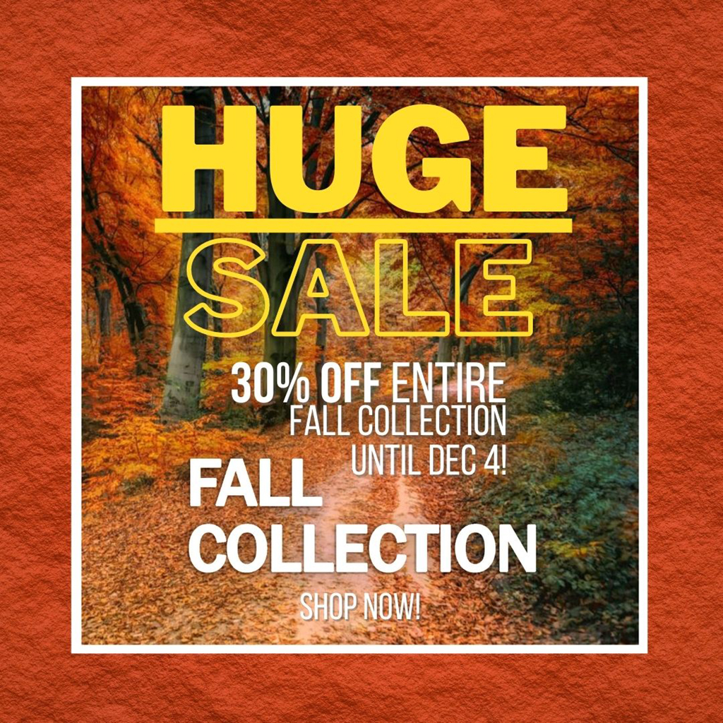 Fall Collection Sale 2020