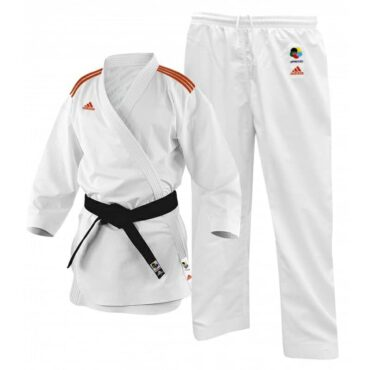 ADIDAS KARATE FIGHTER WITH STRIPES CLIMACOOL