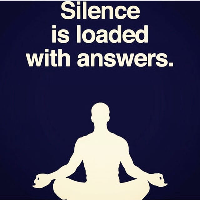 Don't hate. Meditate.