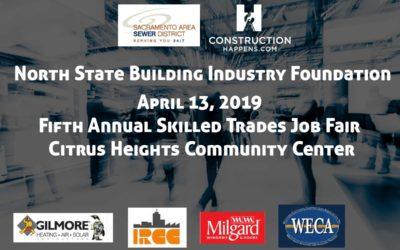 Construction Happens Announces a Construction Job Fair to Be Held April 13, 2019