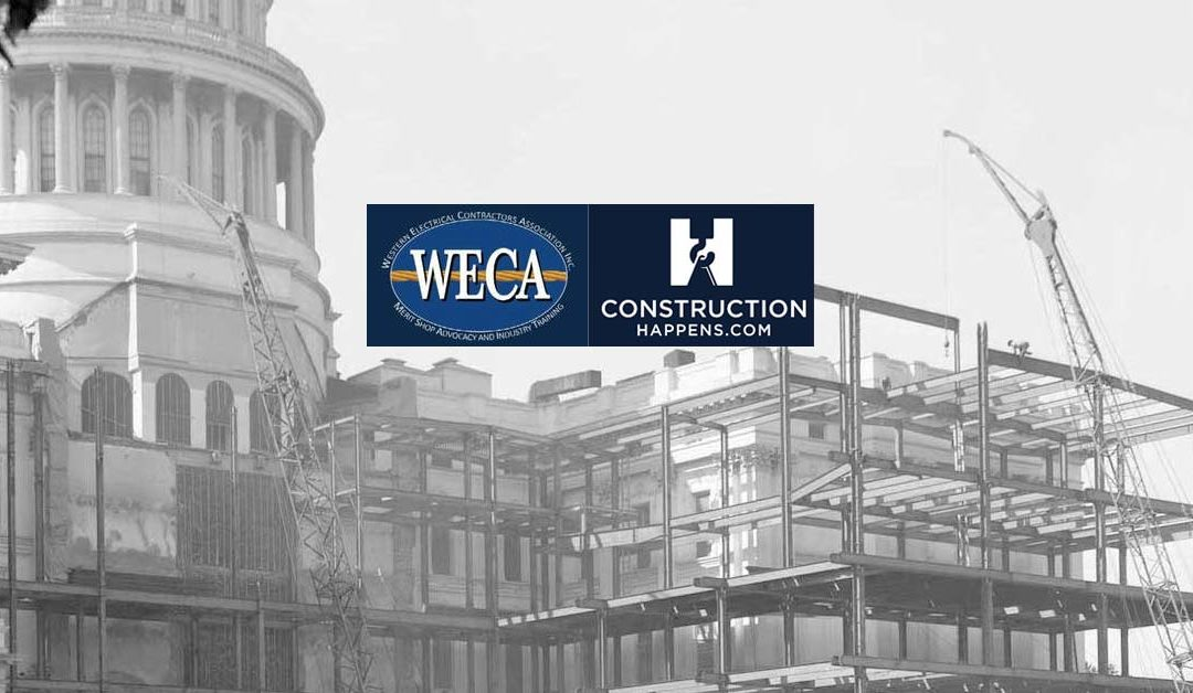 CONSTRUCTIONHAPPENS.COM announces partnership with WECA.