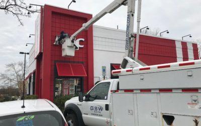 Sign Lighting – KFC, Columbia, MD