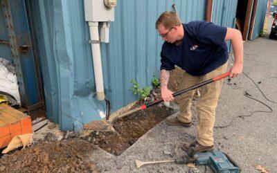 Potomac Edison Service Riser Repair