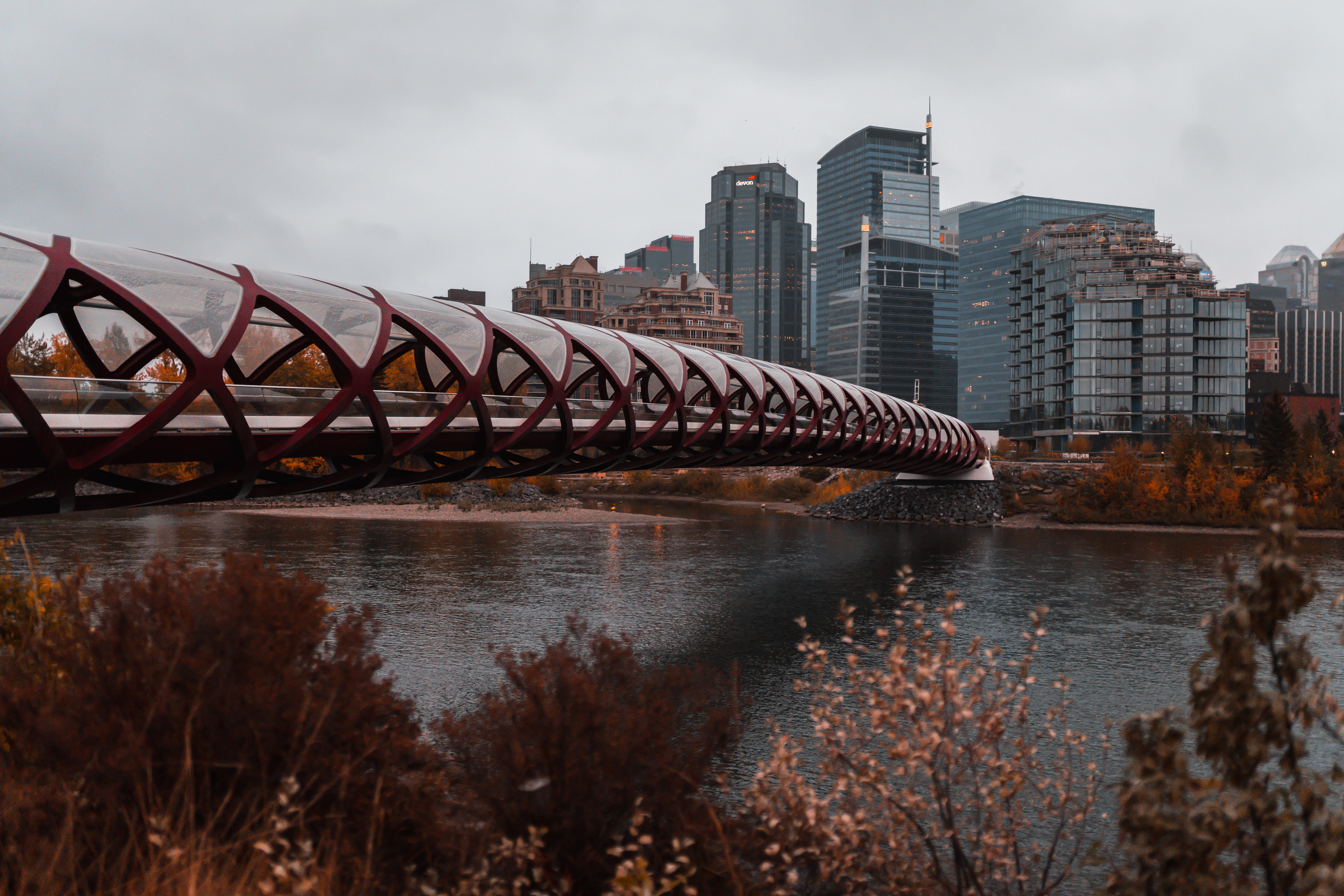 48 Hours In Calgary | The Jeneralist | Peace Bridge