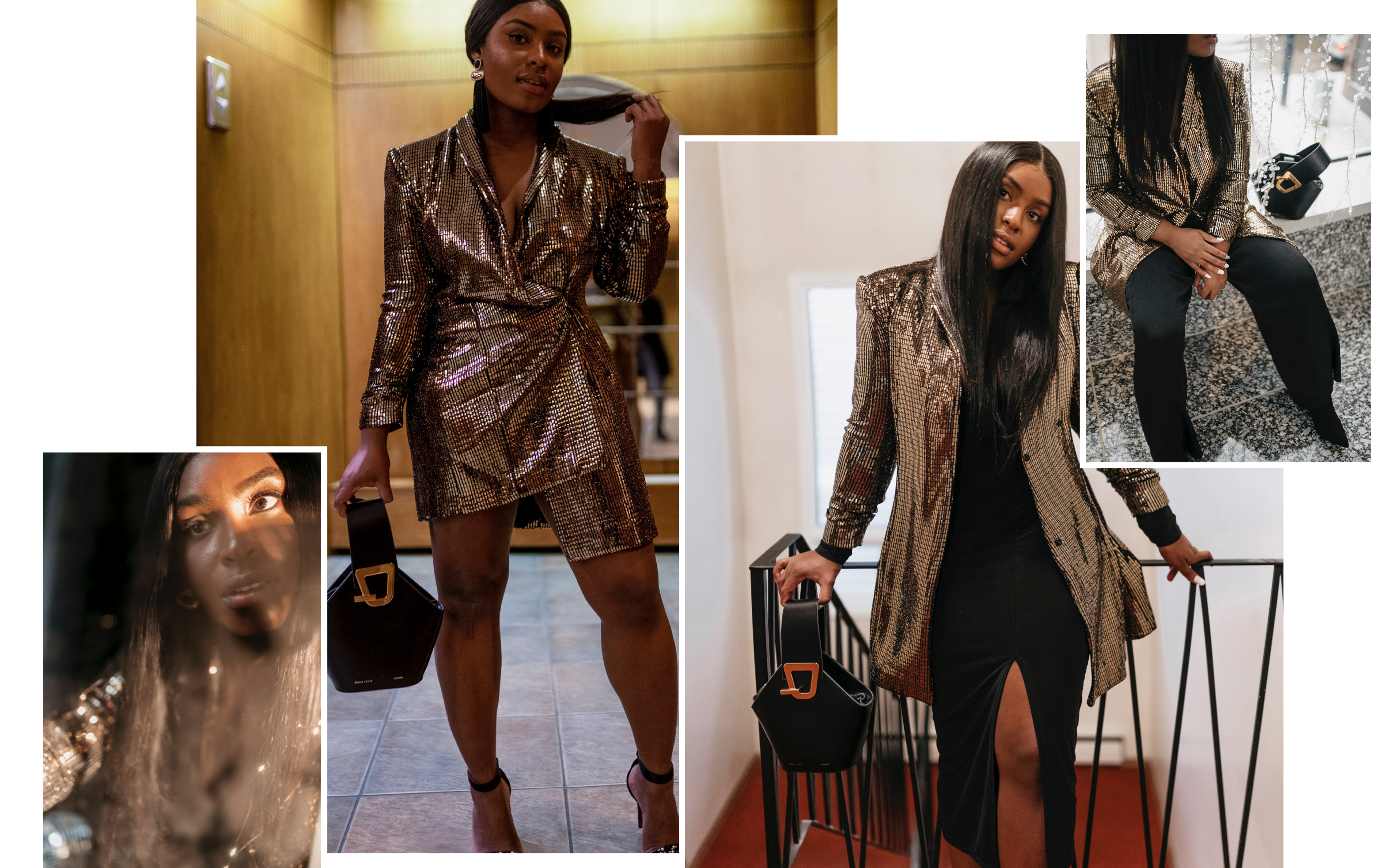 1 Blazer, 3 Different Looks - NYE Outfit Inspo | The Jeneralist