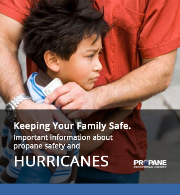Propane Safety - Hurricanes & Severe Weather