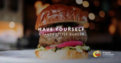 fancy little burger