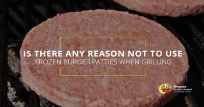 Is There Any Reason NOT to Use Frozen Burger Patties When Grilling