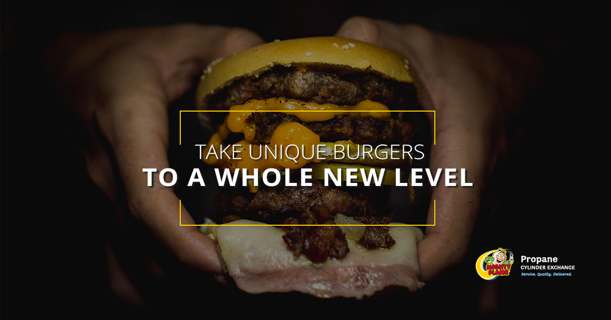 Take Unique Burgers to a Whole New Level