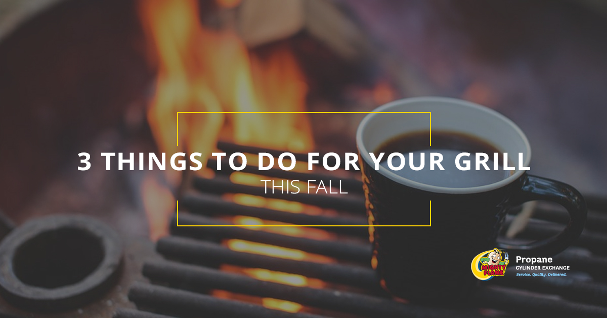 3 Things To Do For Your Grill This Fall