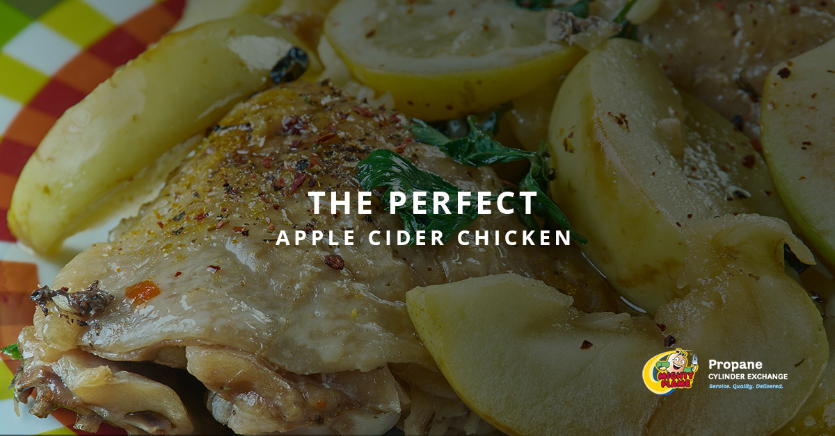 The Perfect Apple Cider Chicken
