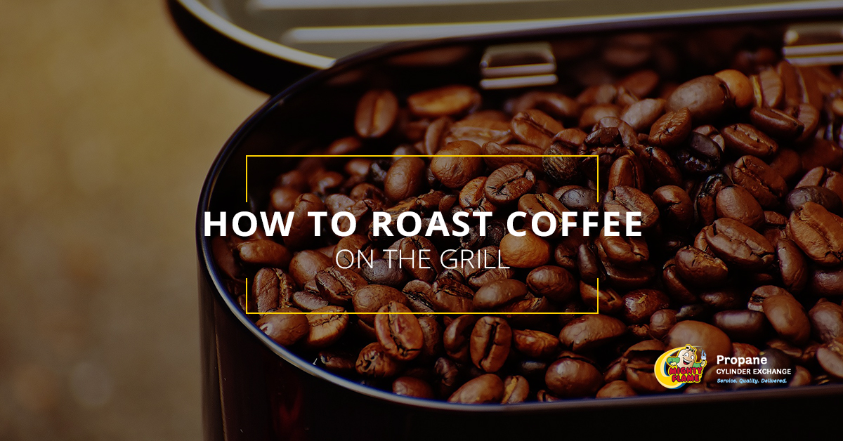 How to Roast Coffee on the Grill
