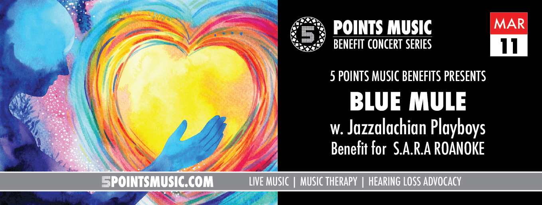 5 POINTS MUSIC BENEFITS: BLUE MULE w. Appalachian Playboys