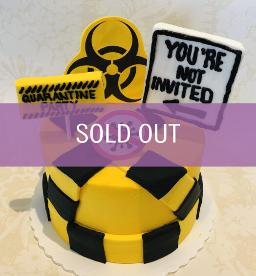 Quarantine Birthday Cake