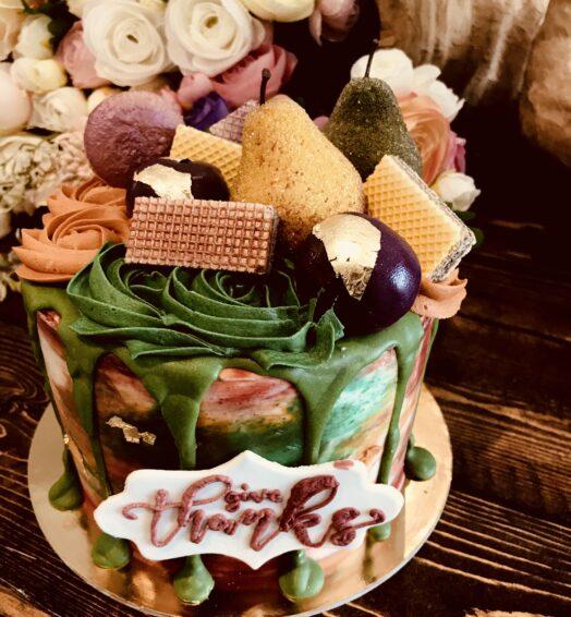 Chai Spice Cake