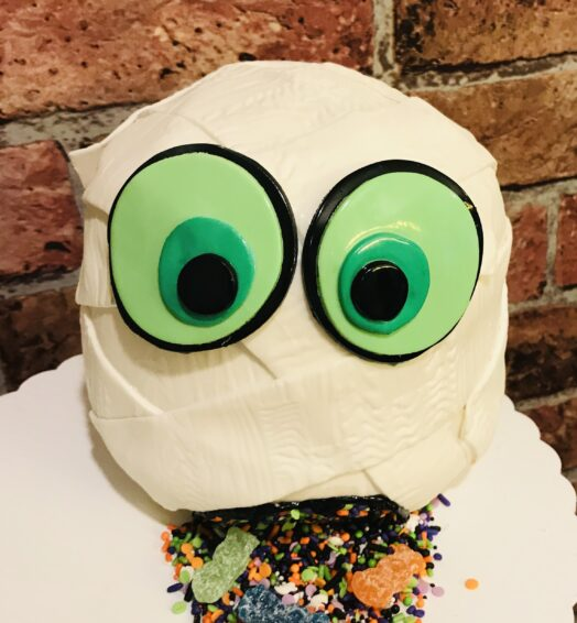 Halloween Mummy Cake
