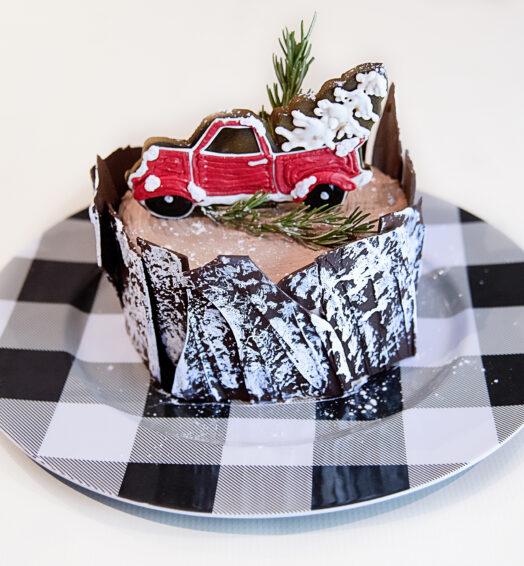 Keep on Truckin' Cake